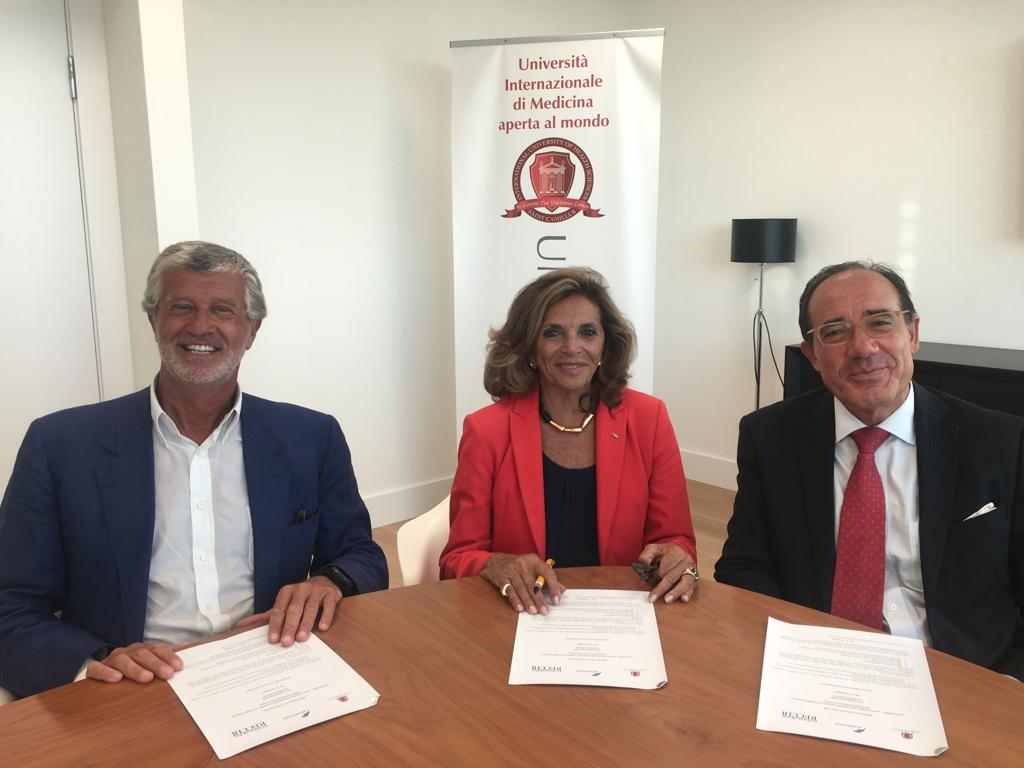 Firma del protocollo con Marevivo e Fondazione Recchi
